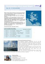 Flottille Rügen - mediamare yachtcharter