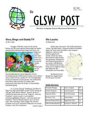 0509 Zeitung_PCw - The German Language School of Westwood