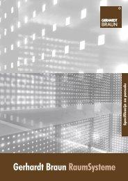 Specifikacije za ponudu - Gerhardt Braun RaumSysteme GmbH ...