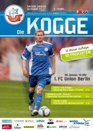 saison 2009/10 ausgabe 11 1 - FC Hansa Rostock