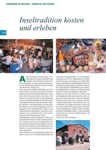 Inseltradition kosten und erleben - Home Contura Rostock