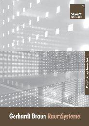 Poptávkový formulář - Gerhardt Braun RaumSysteme GmbH & Co. KG