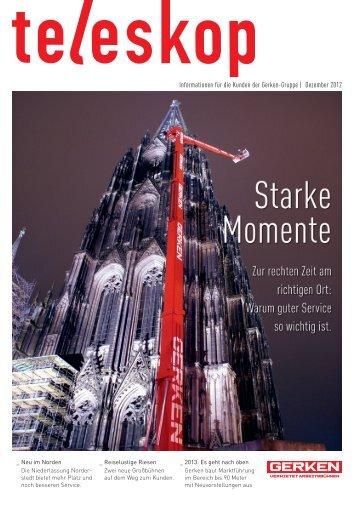 Ausgabe 1/2012 - Gerken GmbH