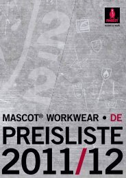 Mascot Gesamtkatalog - Hoffmann Arbeitsschutz