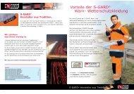 S-Gard Warnschutzkleidung - Germanex