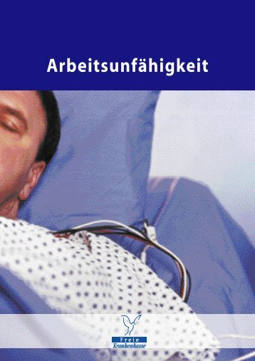 Ar be i t s u n f ä h i g ke i t - Freie Krankenkasse