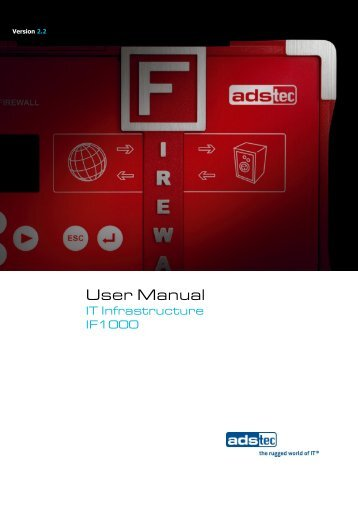 IF1000 User Manual EN V2.2 - Autic system AS