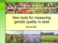 Aspects of purity - International Seed Testing Association