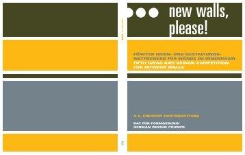 befindet sich der Katalog 2006 als PDF - German Design Council
