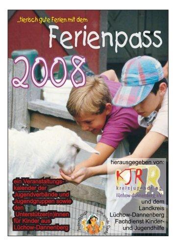 Ferienpass 2008 - Jugendserver Niedersachsen