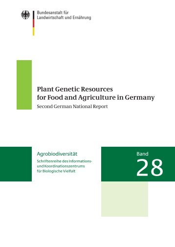 Plant Genetic Resources for Food and Agriculture in ... - Genres