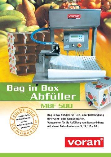 Prospekt Bag in Box.fh8 - voran Maschinen GmbH