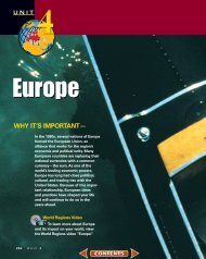 Chapter 11: The Physical Geography of Europe