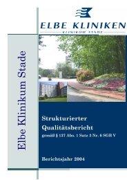 (Q-Bericht Stade f\374r internet) - Elbe Kliniken Stade/Buxtehude
