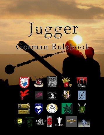 Offizielles Regelwerk der deutschen Jugger regeln.jugger.org