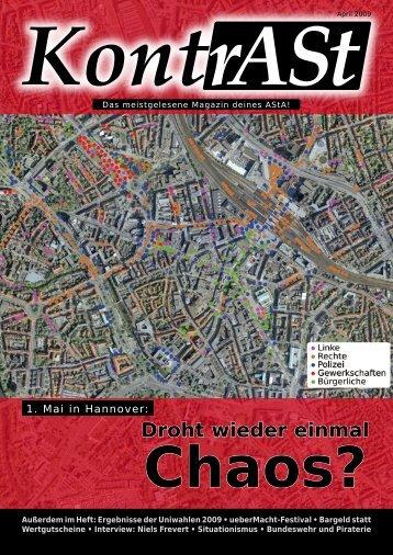 Droht wieder einmal Chaos? - asta - Leibniz Universität Hannover