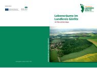 Lebensräume im  Landkreis Görlitz