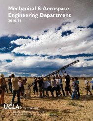 2010-11 Mechanical & Aerospace Engineering Department - UCLA ...