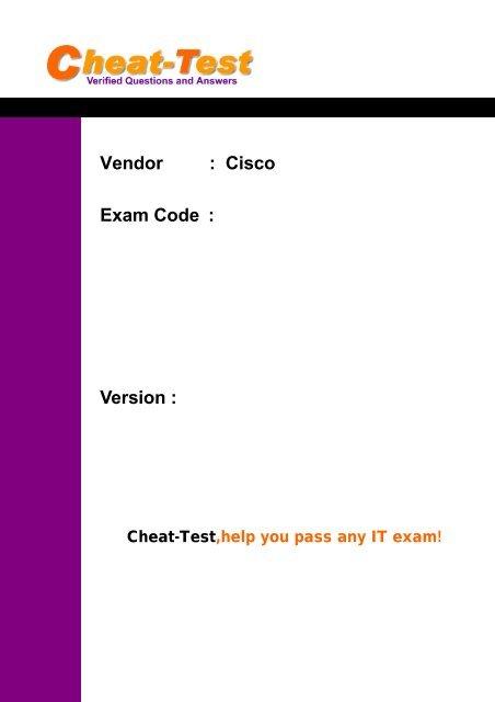 Pdf cisco ccda 640-864