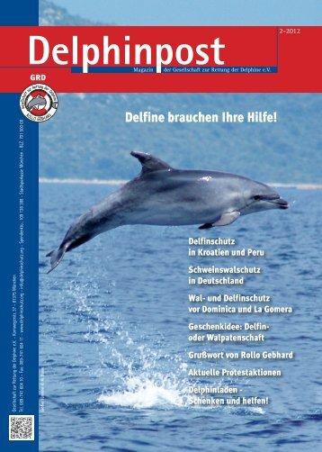 2-2012 (4MB) - Gesellschaft zur Rettung der Delphine e.V.