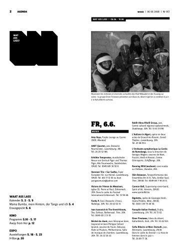 Fr, 6.6. - Woxx