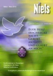 Abends in St. Nicolai - Ev.-luth. Kirchengemeinde Westerland/Sylt