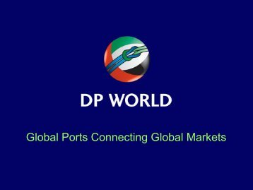 Global Ports Connecting Global Markets - IPTC