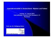 Mythen und Fakten - Universität Konstanz