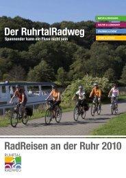 RadReisen an der Ruhr 2010 Der RuhrtalRadweg - Sauerland ...