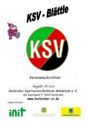 Weihnachten 2012 - Karlsruher SV