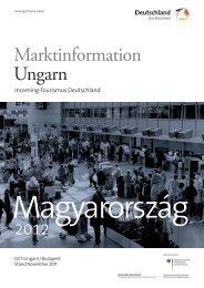 Marktinformation Ungarn - Germany Travel