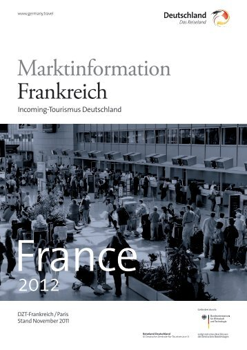 Marktinformation Frankreich - Germany Travel
