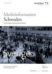Marktinformation Schweden - Germany Travel