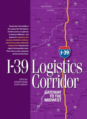 I-39 Logistics Corridor - Winnebago County, Illinois