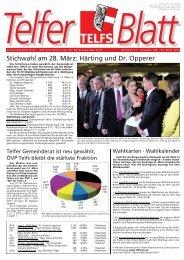 Telferblatt 186 vom 23.03.10 - Marktgemeinde Telfs
