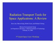 Radiation Transport Tools for Space Applications: A Review
