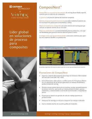 Líder global en soluciones de proceso para composites ComposiNest