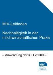 des Leitfadens - Milchindustrie-Verband e.V.