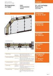 Montagewände von Rigips® Holz- Einfachständer- wand Ein- und ...