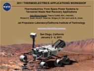 Thermoelectrics: From Space Power Systems to Terrestrial Waste ...