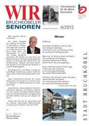 Seniorenzeitung 4 - 2012 - Stadt Bruchköbel