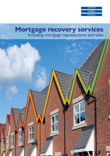 Mortgage recovery services - Jeffrey Green Russell