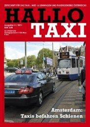 Amsterdam: Taxis befahren Schienen - bei Taxi 60160