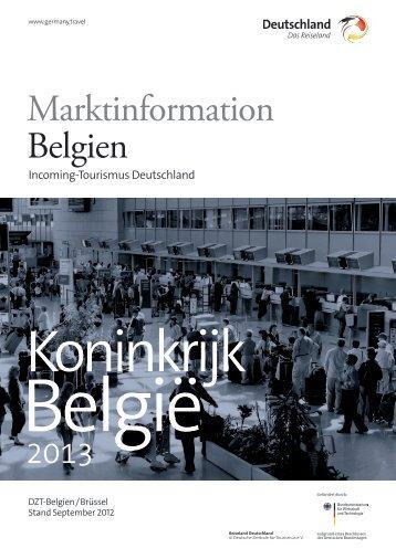 Marktinformation Belgien - Germany Travel