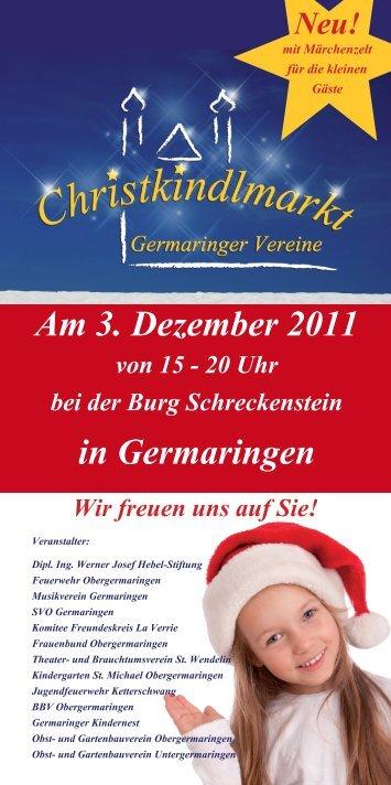 Am 3. Dezember 2011 in Germaringen