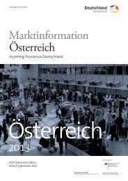 Marktinformation Österreich - Germany Travel
