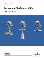 TankRadar Pro - Rosemount Tank Radar