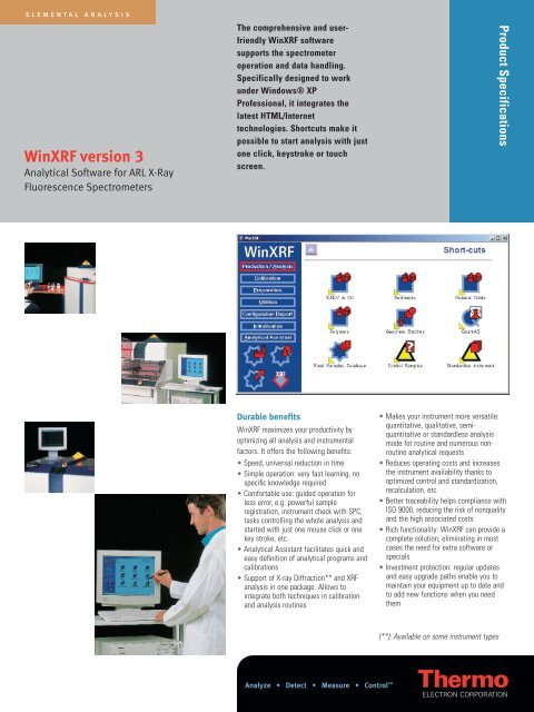 Winxrf Analytical Software For Xrf Spectrometers Pdf