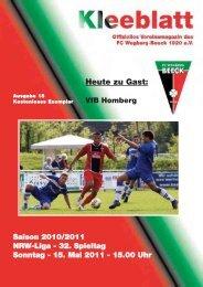 Ausgabe 15 Saison 2010 - 2011:Layout 1.qxd - FC Wegberg-Beeck ...