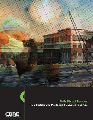 HUD Section 242 Mortgage Insurance Program - CBRE